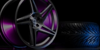 Wheel and Tire Banner