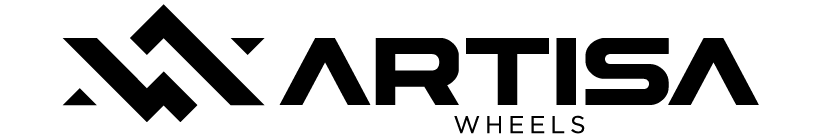 gray artisa wheels logo