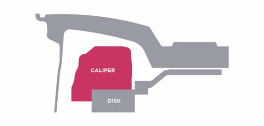 Artisa brake clearance diagram