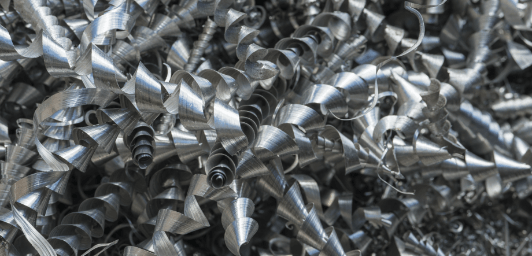 A356+ aluminum alloy shavings
