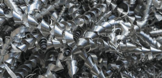 A356+ aluminum alloy shavings