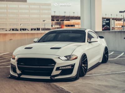 2019 Ford Mustang - 19x11 7mm - Artisa ArtFormed Elder - Air Suspension - 235/35R19