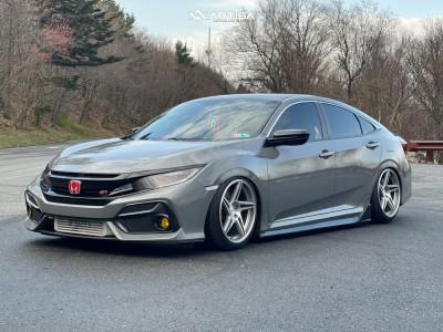 2019 Honda Civic - 18x9.5 35mm - Artisa ArtFormed Carrier - Air Suspension - 235/40R18