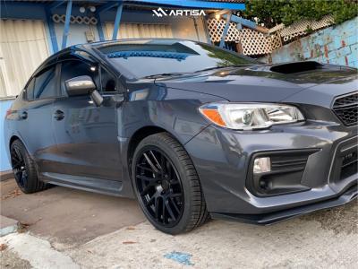 2020 Subaru WRX - 19x9.5 35mm - Artisa ArtFormed Elder - Stock Suspension - 255/45R19