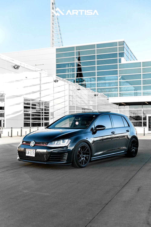 2 2016 Gti Volkswagen Se Bc Racing Coilovers Artisa Artformed Elder Black