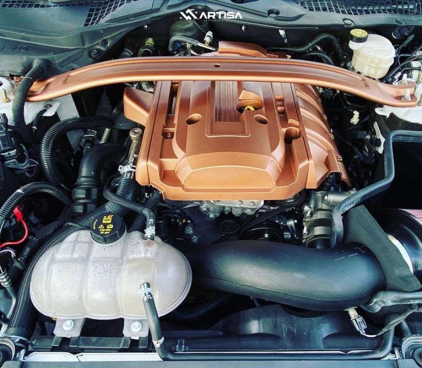15 2019 Mustang Ford Ecoboost Air Lift Performance Air Suspension Artisa Artformed Elder Black