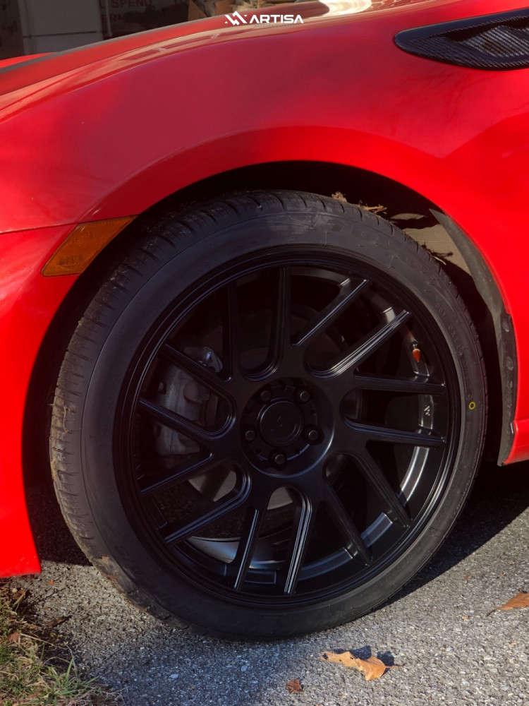 8 2017 86 Toyota Special Edition Stock Air Suspension Artisa Artformed Elder Black