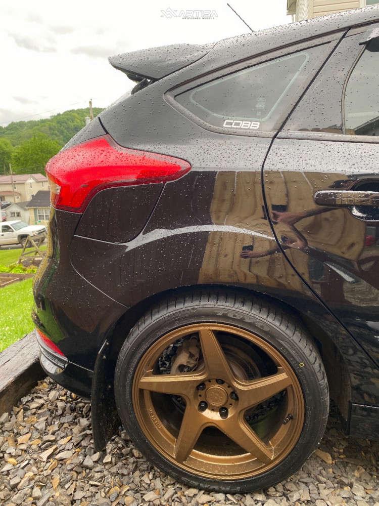 11 2016 Focus Ford St Stock Air Suspension Artisa Artformed Kinetic Bronze