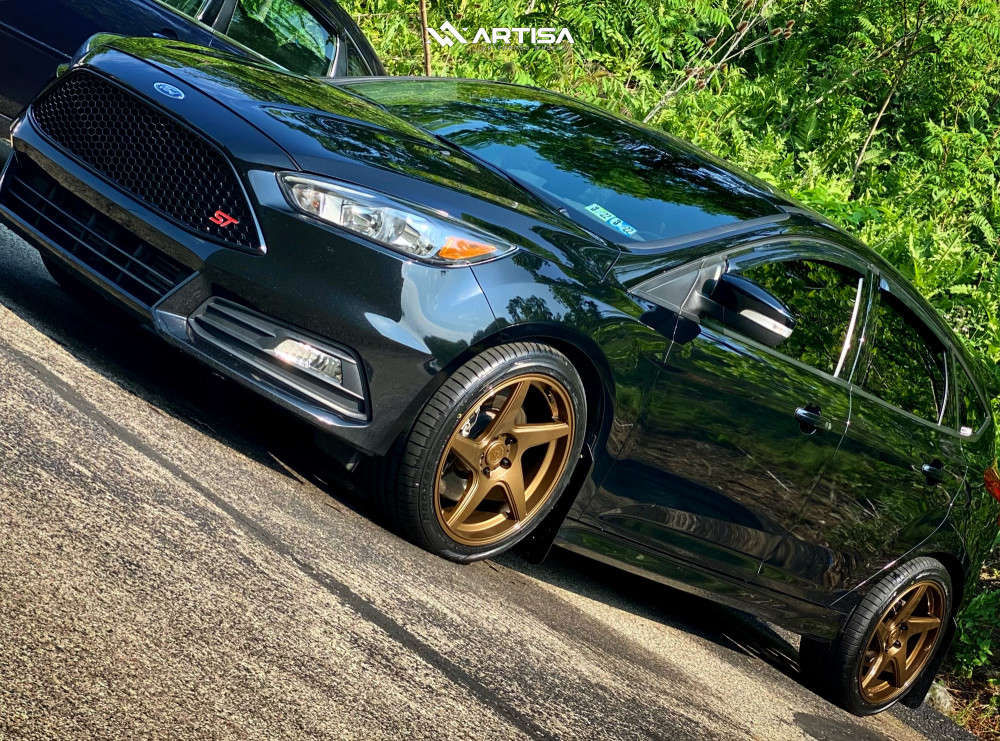 14 2016 Focus Ford St Stock Air Suspension Artisa Artformed Kinetic Bronze