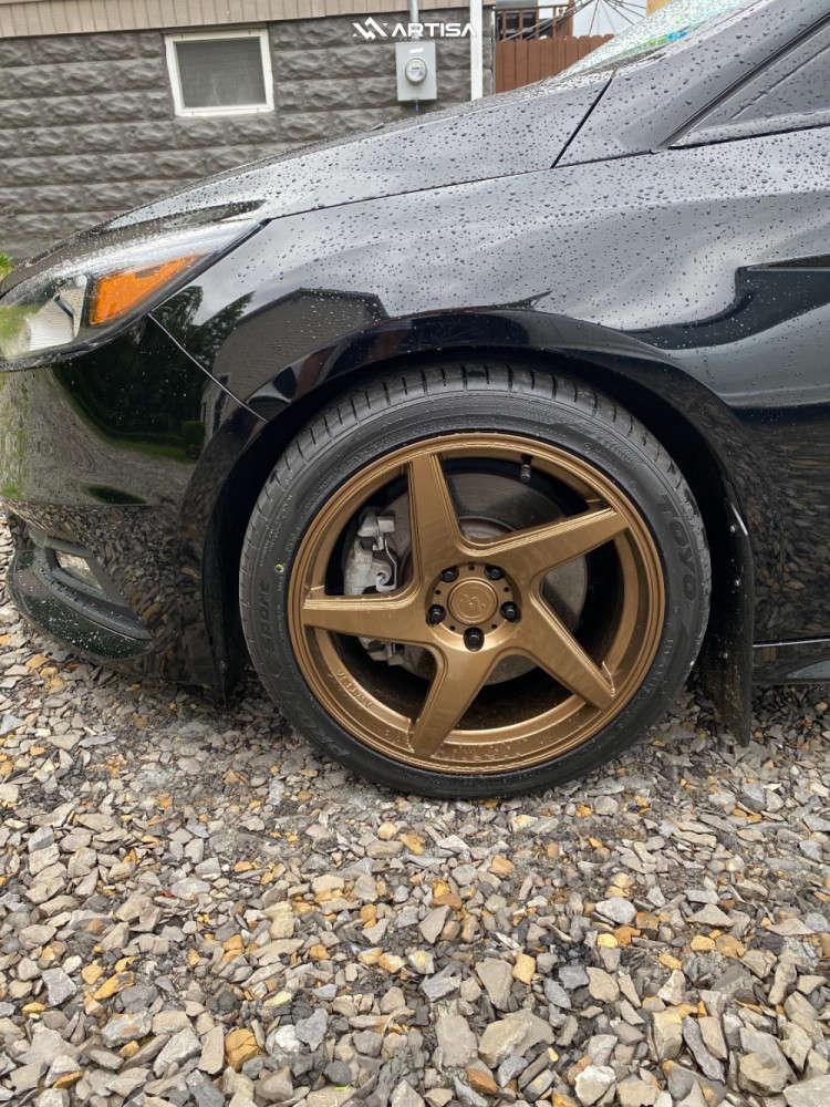 8 2016 Focus Ford St Stock Air Suspension Artisa Artformed Kinetic Bronze