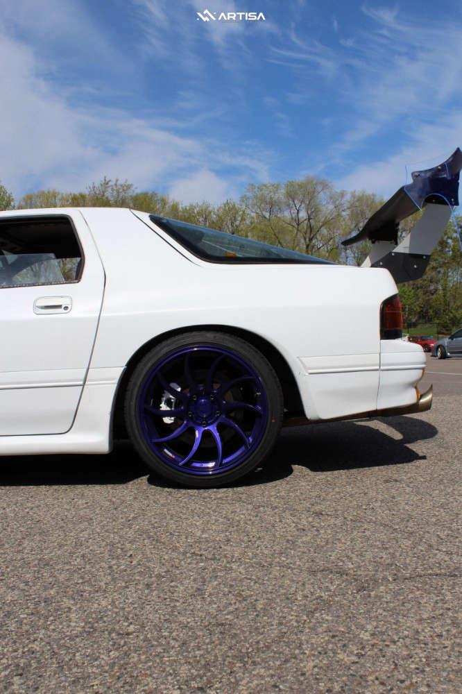 10 1991 Rx 7 Mazda Turbo Tein Coilovers Artisa Artformed Night Custom