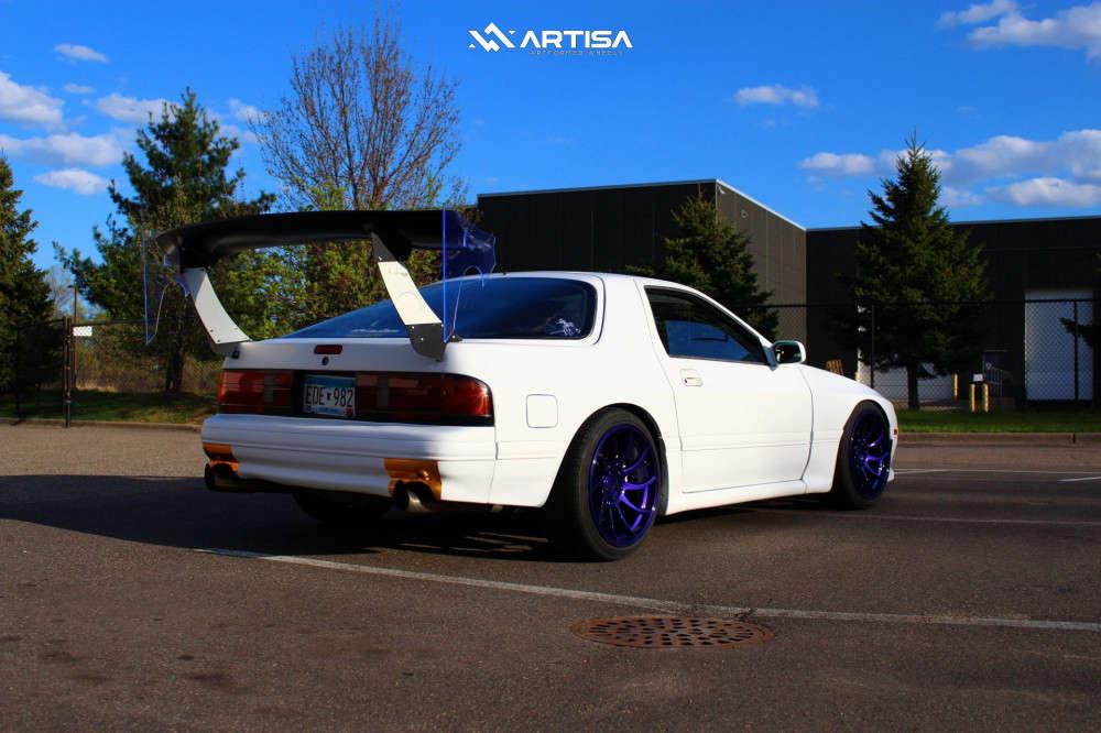 15 1991 Rx 7 Mazda Turbo Tein Coilovers Artisa Artformed Night Custom