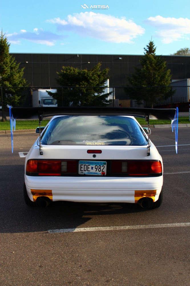 3 1991 Rx 7 Mazda Turbo Tein Coilovers Artisa Artformed Night Custom
