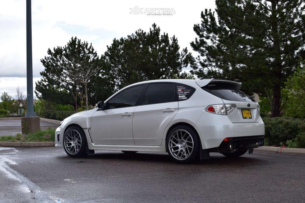 14 2012 Wrx Subaru Base Bc Racing Coilovers Artisa Artformed Elder Silver