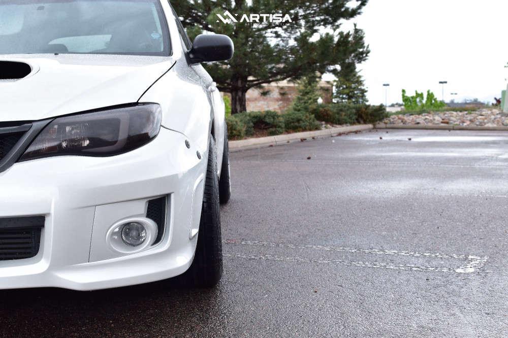 15 2012 Wrx Subaru Base Bc Racing Coilovers Artisa Artformed Elder Silver
