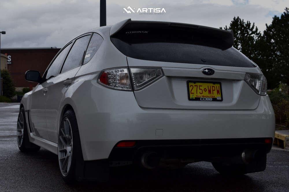 4 2012 Wrx Subaru Base Bc Racing Coilovers Artisa Artformed Elder Silver