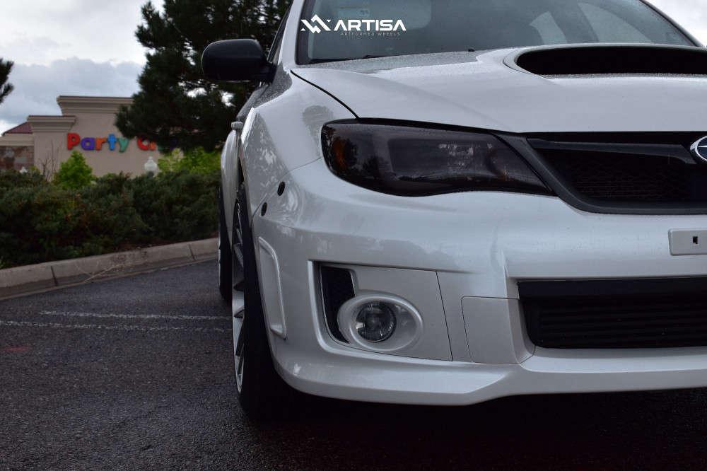 5 2012 Wrx Subaru Base Bc Racing Coilovers Artisa Artformed Elder Silver