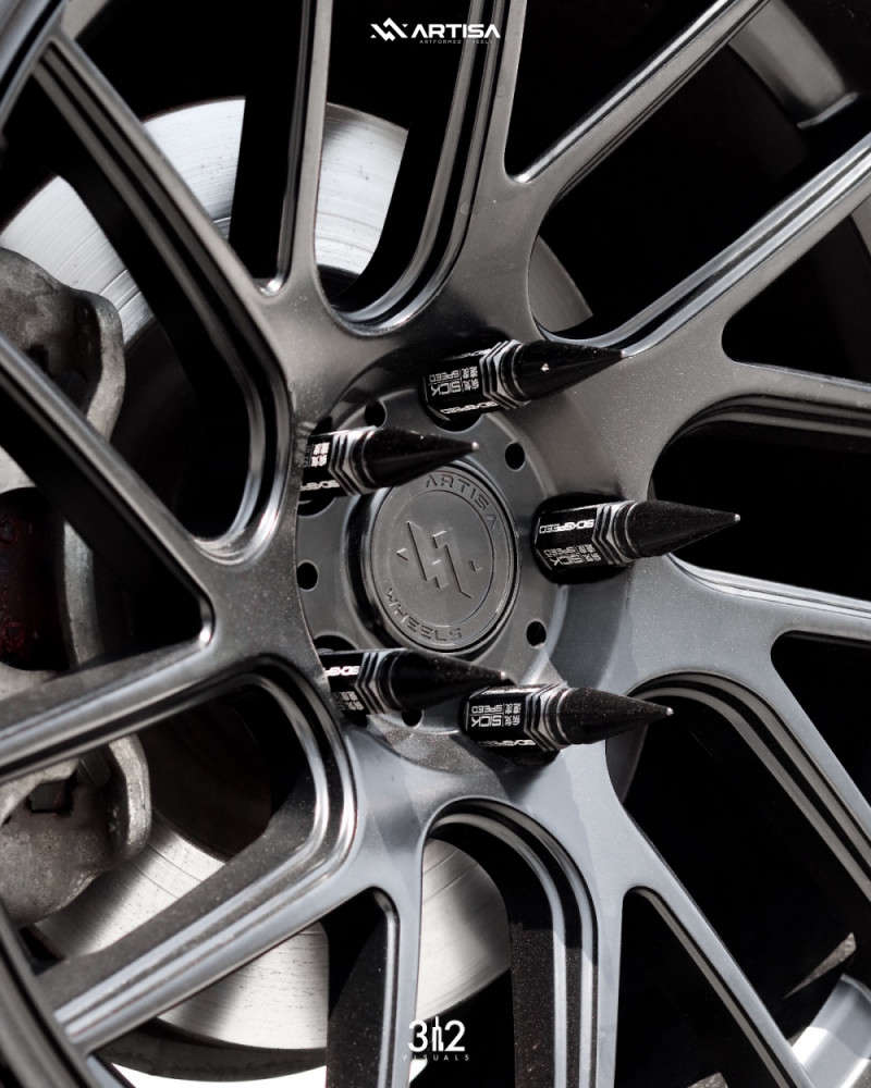 6 2013 Genesis Coupe Hyundai 20t Premium Air Lift Performance Air Suspension Artisa Artformed Elder Black