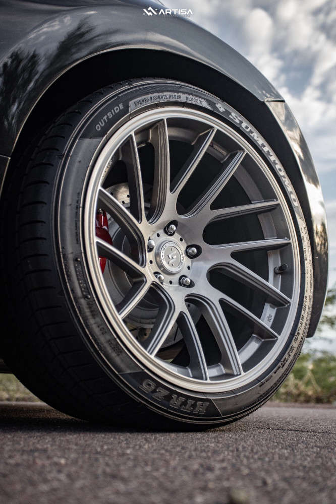 5 2013 370z Nissan Touring Stock Air Suspension Artisa Artformed Elder Silver
