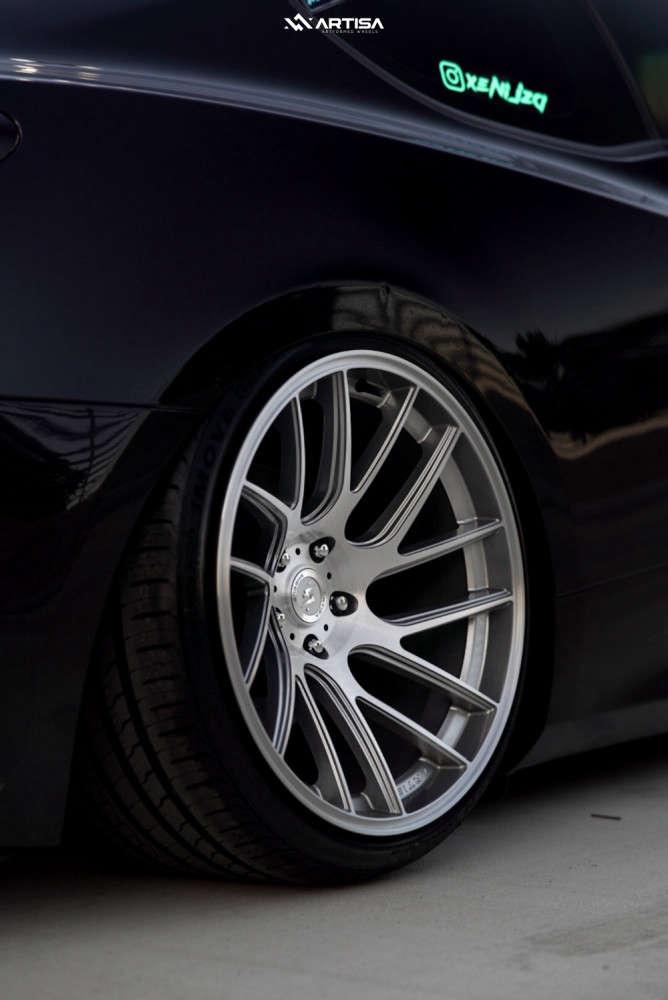 9 2015 Genesis Coupe Hyundai 38 Custom Air Suspension Artisa Artformed Elder Silver