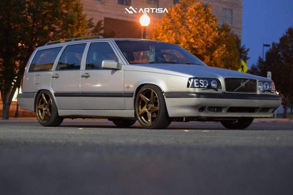1 1996 850 Volvo Glt Cxracing Coilovers Artisa Artformed Kinetic Bronze