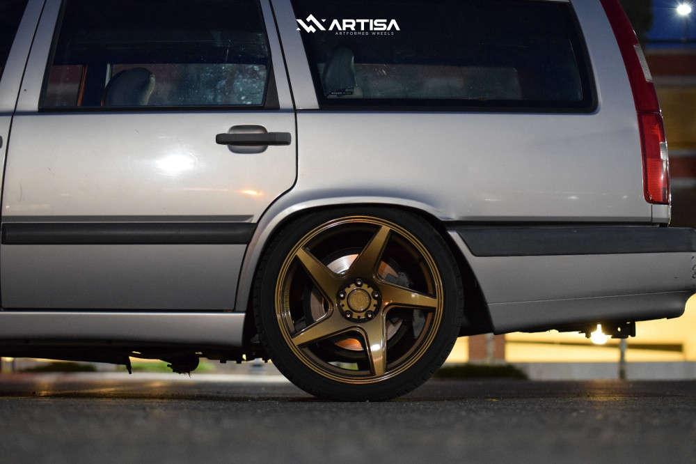 10 1996 850 Volvo Glt Cxracing Coilovers Artisa Artformed Kinetic Bronze