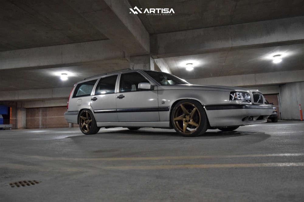 14 1996 850 Volvo Glt Cxracing Coilovers Artisa Artformed Kinetic Bronze