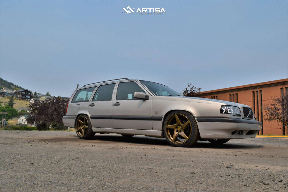 15 1996 850 Volvo Glt Cxracing Coilovers Artisa Artformed Kinetic Bronze