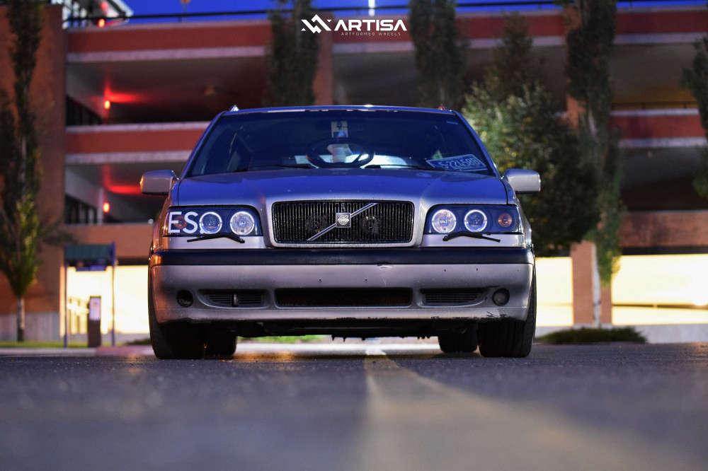 2 1996 850 Volvo Glt Cxracing Coilovers Artisa Artformed Kinetic Bronze