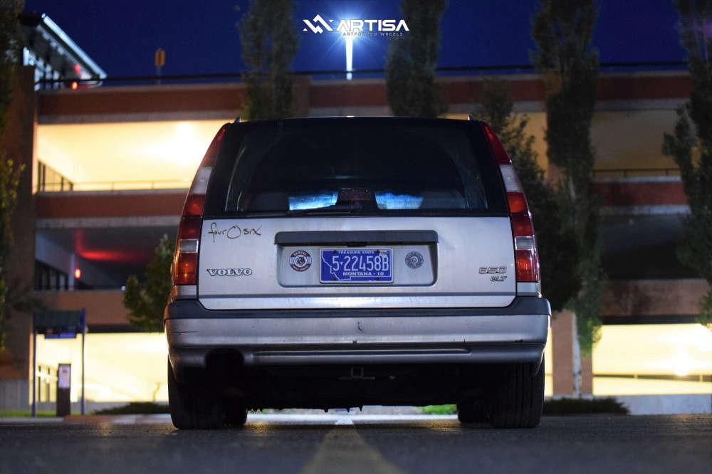 3 1996 850 Volvo Glt Cxracing Coilovers Artisa Artformed Kinetic Bronze