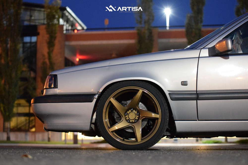 8 1996 850 Volvo Glt Cxracing Coilovers Artisa Artformed Kinetic Bronze