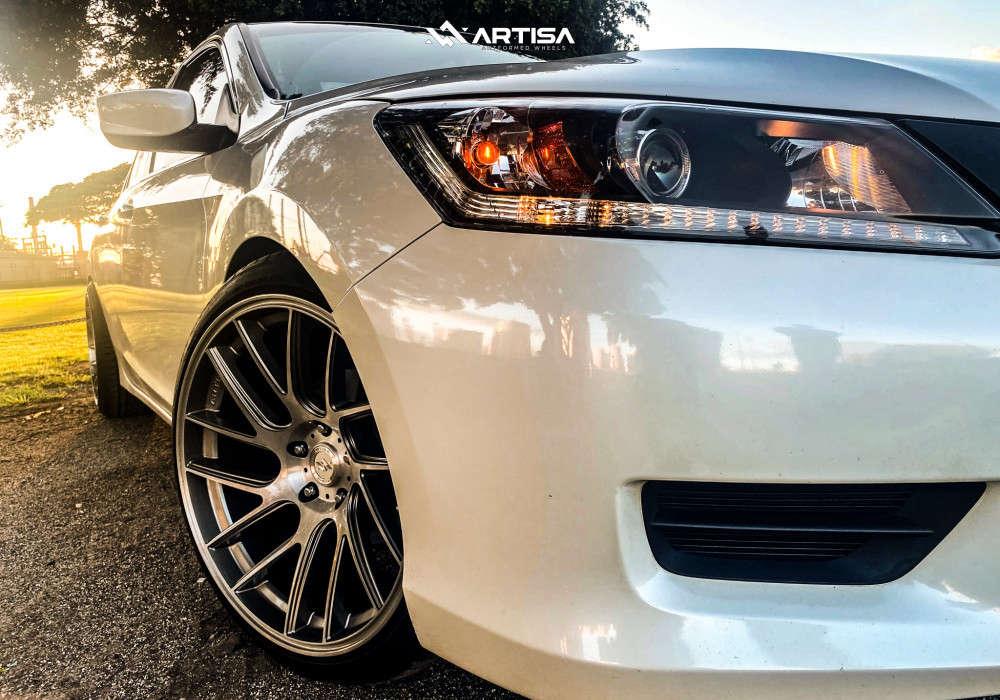 9 2015 Accord Honda Lx Rev9 Hyper Street Coilovers Coilovers Artisa Artformed Elder Silver