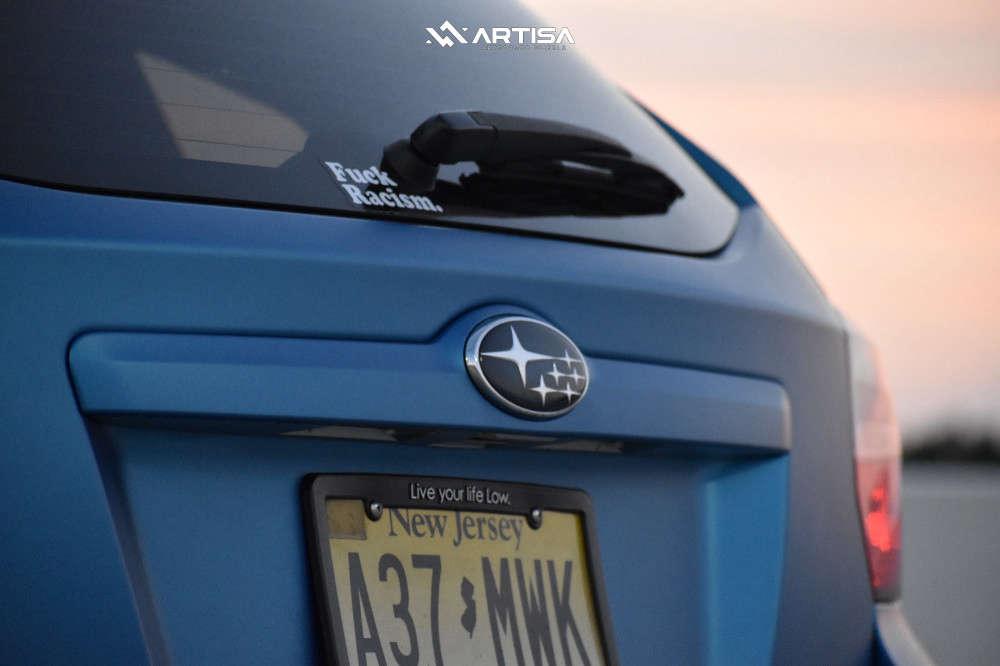 6 2012 Impreza Subaru Limited Fortune Auto Coilovers Artisa Artformed Elder Raven Black