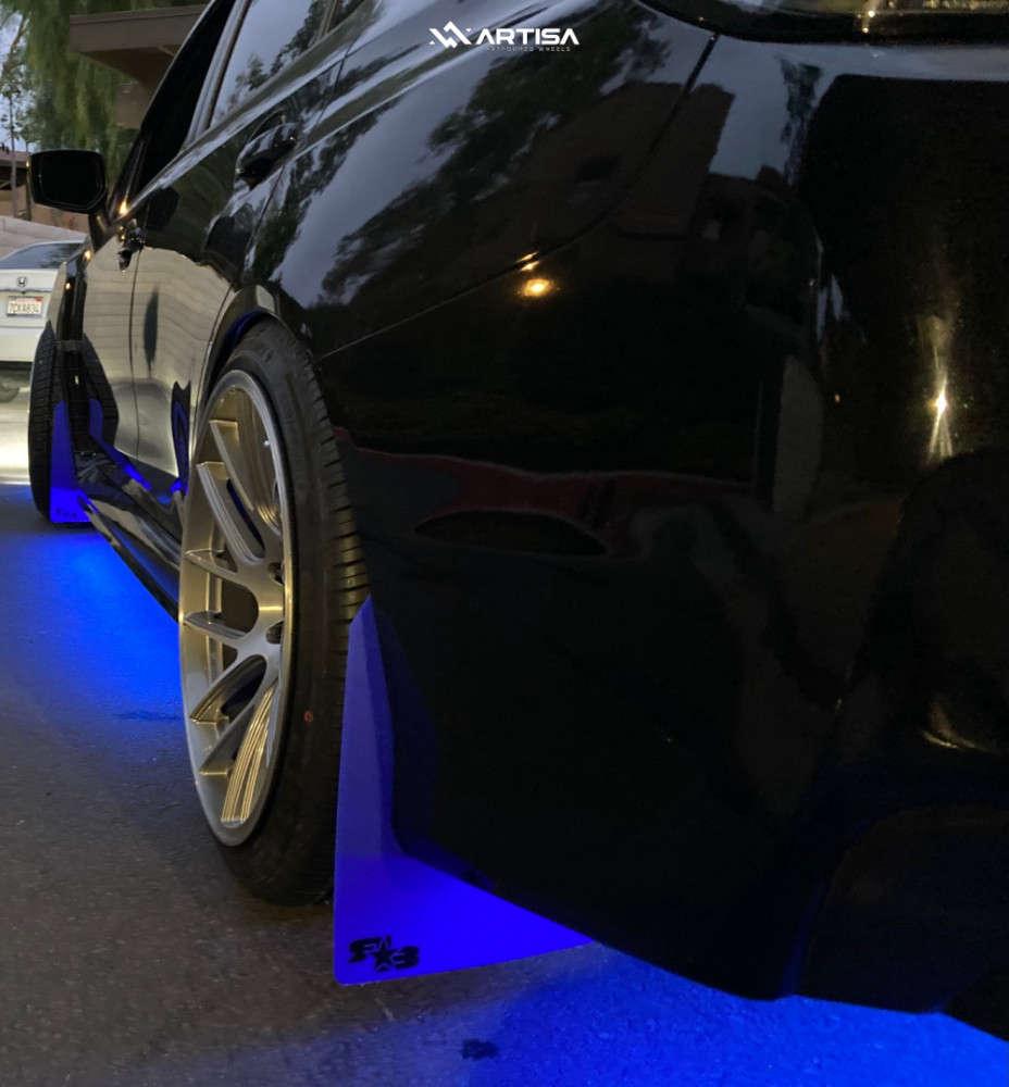 3 2017 Wrx Subaru Base Raceland Coilovers Artisa Artformed Elder Brushed Apollo Silver