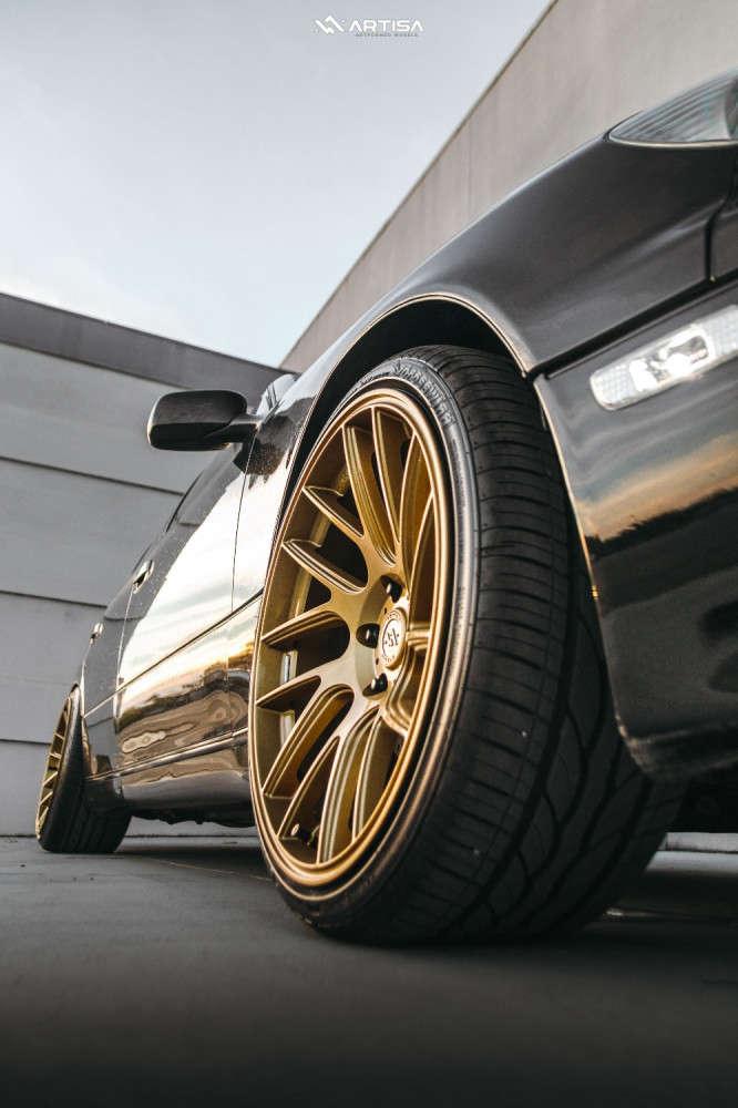 4 2003 Gs300 Lexus Base Silvers Coilovers Artisa Artformed Wheel Model Brushed Apollo Silver