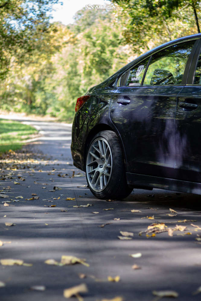 7 2017 Legacy Subaru 25i Bc Racing Coilovers Artisa Artformed Elder Brushed Apollo Silver