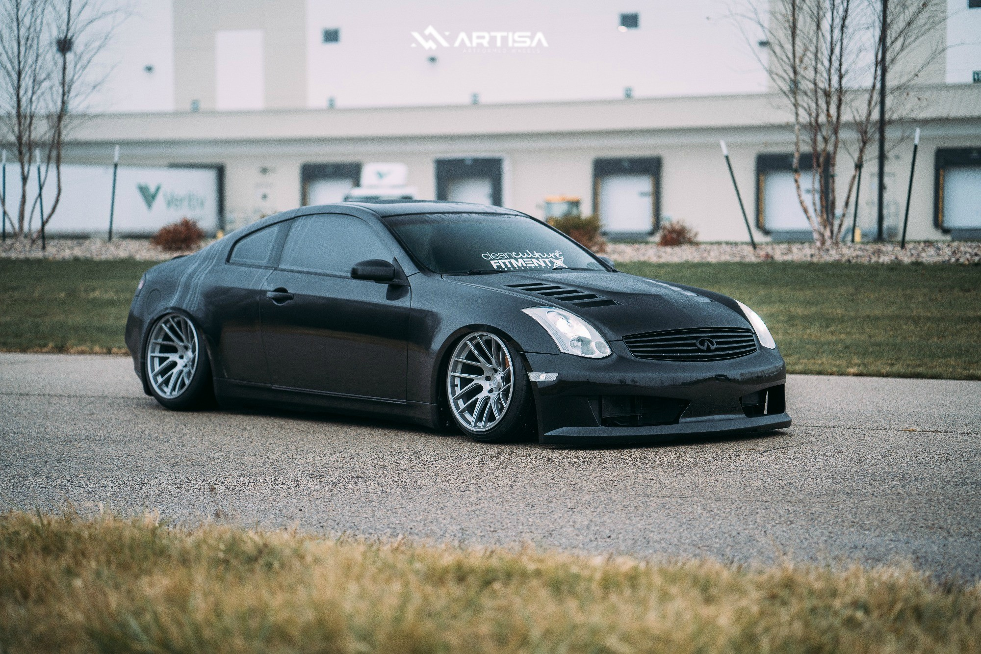1 2004 G35 Infiniti Rwd 2dr Coupe W Leather 35l 6cyl 6m Air Lift Performance Air Suspension Artisa Elder Silver